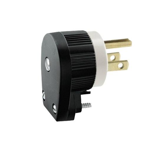 Us Male Nema 5 15p 12 Direction Rotation Diy Plug Right Angle Nema 5