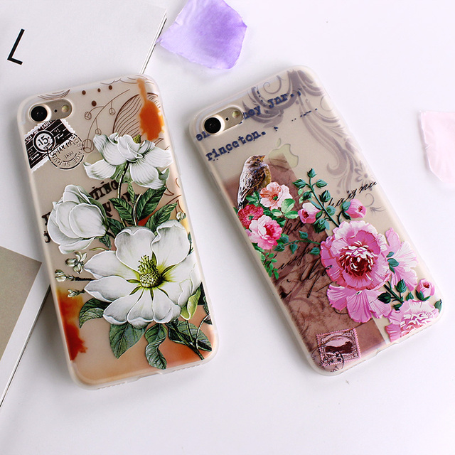 Ultra-thin Simple Scrub Silicone Phone Cases For iphone 6 6S 8 7 Plus Soft Back Cover 5