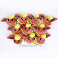 Monster Go Plush Toys Flareon Vaporeon Leafeon Jolteon Mini Soft Stuffed Animal Plush Pendant Dolls Children Gift 10pcs/lot