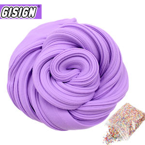 GISIGN Fluffy Foam Clay Light Soft Charms Slime Kit