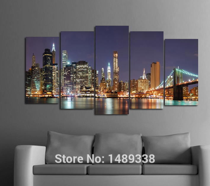 5 Panel Wall Art high quality textured paneling-buy cheap textured paneling lots