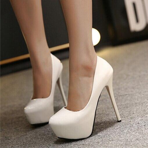Mince Cuir Ultra Femme Talons Mariage De Évider En Black Verni Hauts Pompes 14 Sexy forme white Plate Femmes Chaussures Cm pink wtcOCtqZA