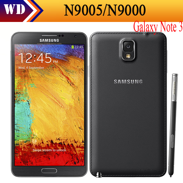 Original Samsung Galaxy Note 3 N9005/N9000 3/4G network 13MP 16GB 5.7 inch Quad-core Ultra Slim Android cell phones refurbished cutting mat