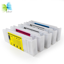 все цены на 700ml easy to use ink cartridge for epson surecolor T3070 printer disposable cartridge compatible for epson printers онлайн
