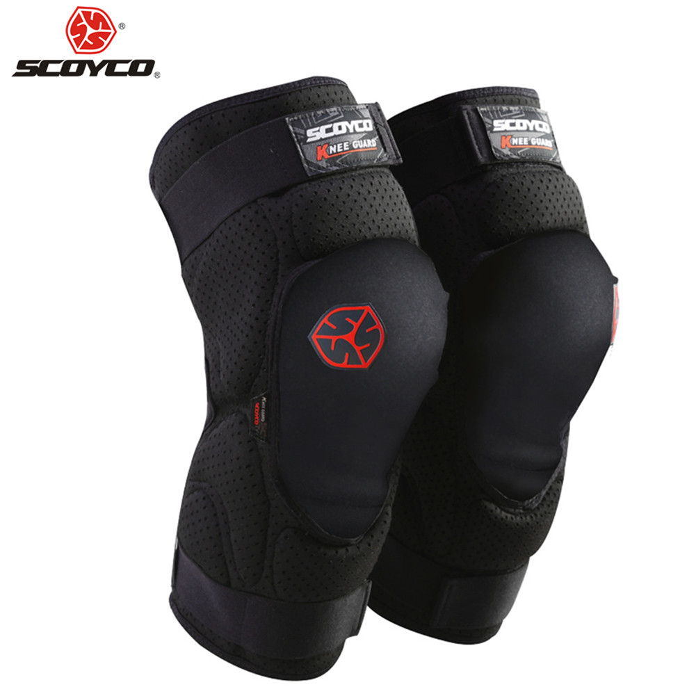 Moto Sports Kneepads Protective Motorcycle Equipment Knee Pads Protector Sports MTB Bike Racing Guards Riding Motocross Gear scoyco motorcycle protective kneepads moto racing knee elbow pads guards protector k1163 motocross sports protective gear