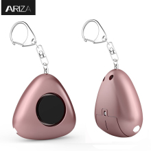 Ariza self defense personal alarm keychain emergency security alarm anti-wolf panic alarm with LED light for women elderly kids