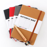 Ofis ve Okul Malzemeleri'ten Not defterleri'de Sert kapak ızgara notebook not defteri iş günlüğü