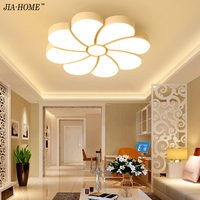 2017 Modern Sun Flower Ceiling Lamp LED Personalized Bedroom Light Simple Modern Study Restaurant Lighting Lustre