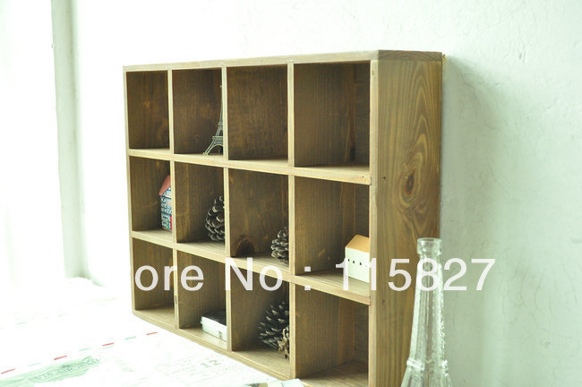 Min order$20(mixed items)wooden shelf desk organization wooden storage tray wooden hanger shelf house decoration
