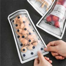4pcs Reusable Seal Silicone Food Storage Containers Fresh Bag Vacuum Sealer Fruit Food Meat Milk Storage Bags Kitchen Accessorie