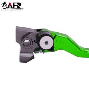 Image 5 - JAER CNC wlewka aluminiowa Pivot składana sprzęgło hamulcowe dźwignie Kawasaki KLX450R 2008 2009 2010 2011 2012 2013 2014 2015