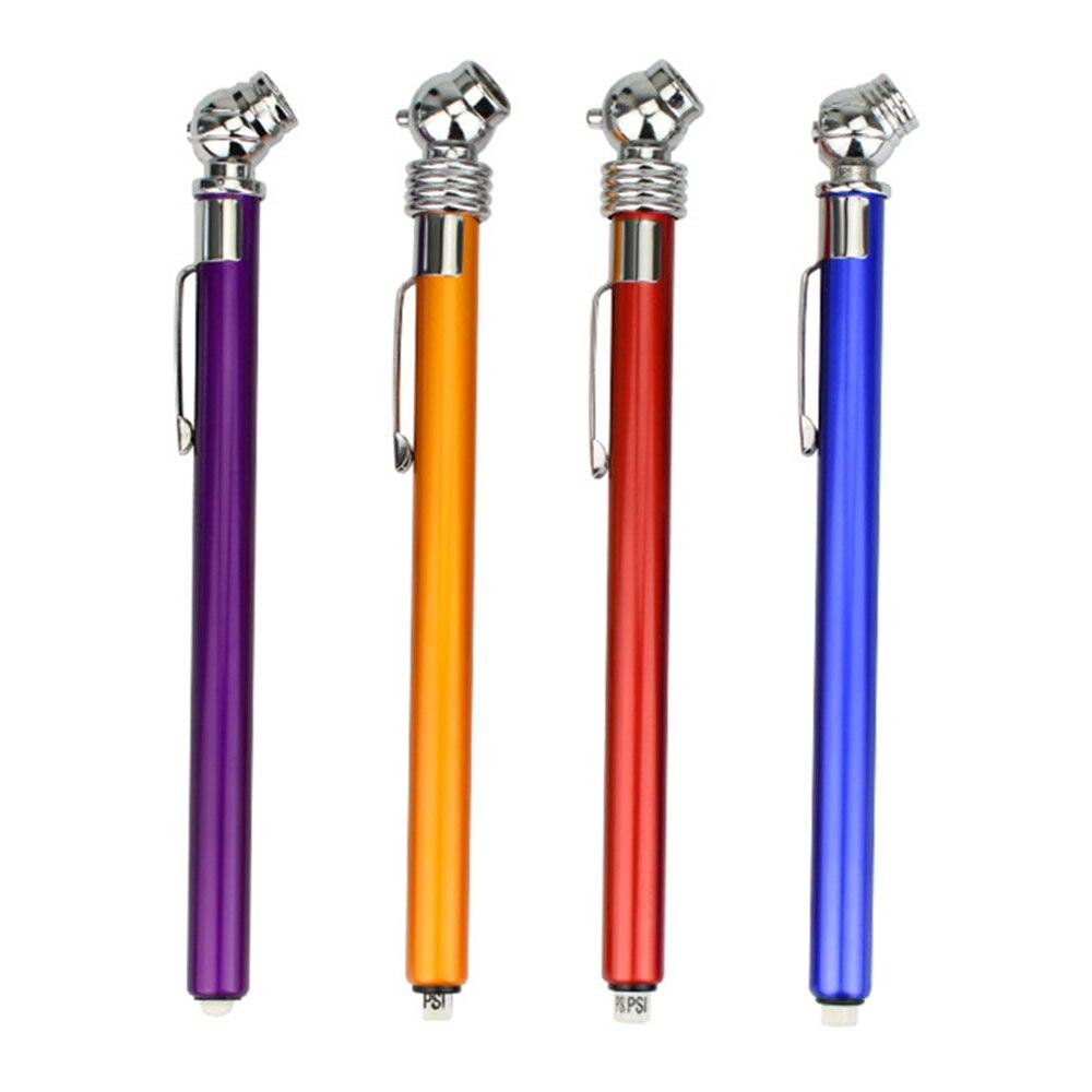 Portable Mini 5-50 PSI Pressure Gauge Pen Shape Durable Car Styling Emergency Use  Tire/Tyre Air Pressure Test Meter