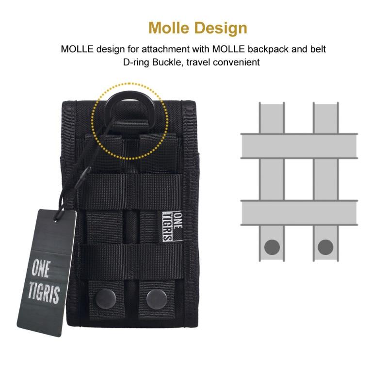 İPhone6s SE iPhone6 Plus 8Plus iPhone X üçün OneTigris - İdman çantaları - Fotoqrafiya 4