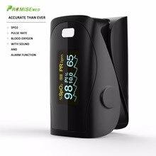 Household Health Monitors Finger Pulse Oximeter ABS Silicone Sensor Equipment Pulsioximetro OLED SPO2 Heart Rate Monitor-NEW