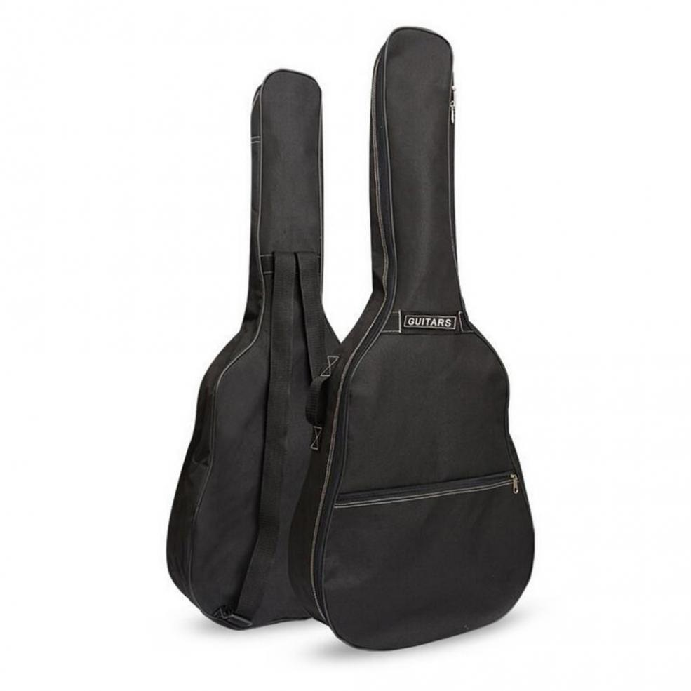 40 / 41 Inch Guitar Bag Carry Case Backpack 600D Oxford Acoustic Folk Guitar Gig Bag Cover With Double Shoulder Straps