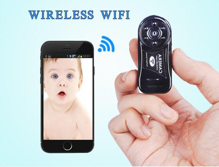 MD81S Mini Camera Wifi IP DV Camera Camcorder Wireless IR Night Vision Micro Camera Motion Sensor