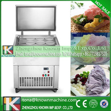 R404a Air-cooling automatic continuous purple yam ice-cream brick machine commercial used shipping by sea