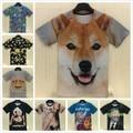2015 estilo del verano de las mujeres/de los hombres t shirt 3d tupac/Marilyn monroe imprimir recortada camiseta hip hop camiseta ropa camiseta mujer feminina