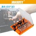 JAKEMY JM-8150 juego de destornilladores para ordenador portátil Kit de herramientas manuales de reparación profesional para teléfono móvil modelo electrónico reparación DIY