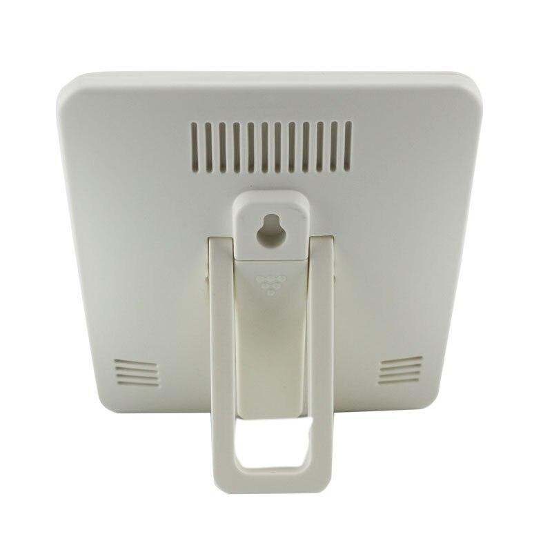 Estação meteorológica indoor digital lcd termômetro higrômetro