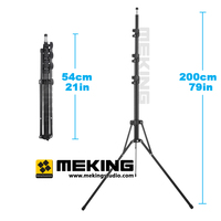 2m Collapsible Folded Light Stand tripod For Photo Studio Video Flash Umbrellas Reflector Lighting