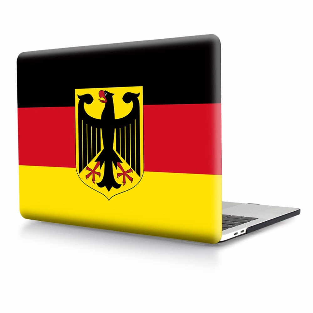 National Flag Hard Case Protector for MacBook 11 12 Air 13 inch Pro 13 Pro Retina 15 inch Touch Bar 2014 2015 2016 2017 2018 image