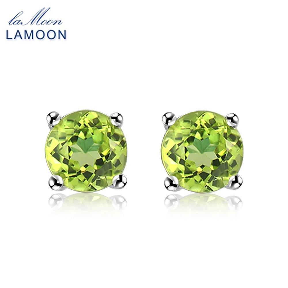 22x16mm SheCrown 18x13mm Drop Green Tsavorite Garnet CZ 925 Silver Stud Earrings