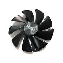 Светодиодный кулер NITRO gear GPU RX 480 RX 470 для видеокарты Sapphire RX480 RX470