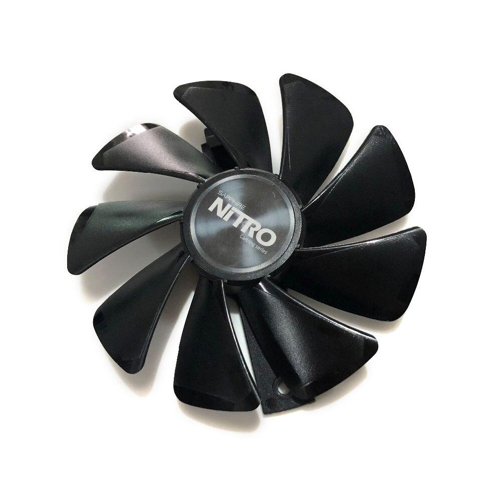 RX 480 RX 470 Refrigerador GPU NITRO Engrenagem ventilador CONDUZIDO para o sistema de refrigeração da Placa de vídeo Sapphire RX480 RX470 como substituto