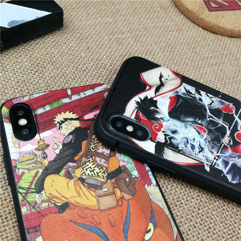 Naruto 3D Emboss case for iphone 1