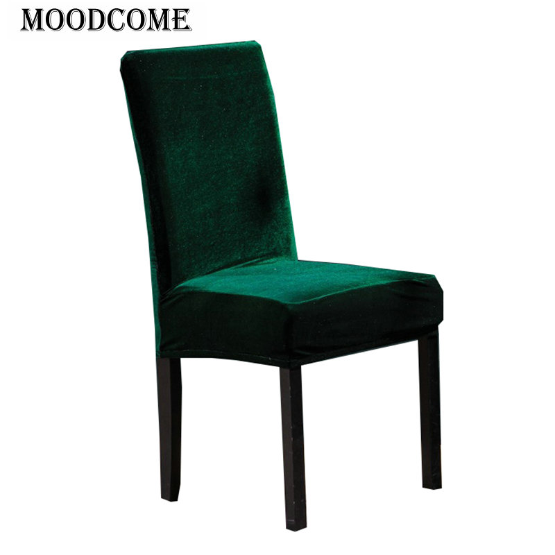 Dining Chair Covers Velvet Summer High Cover Elastic Luxury Soft Touch Home Decorative Office