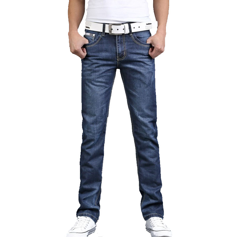 цены VEITCHE Brand Pants 2017 Summer Men jeans high quality straight high waist Denim Pants homme Trousers Men Jeans 28-38 plus size