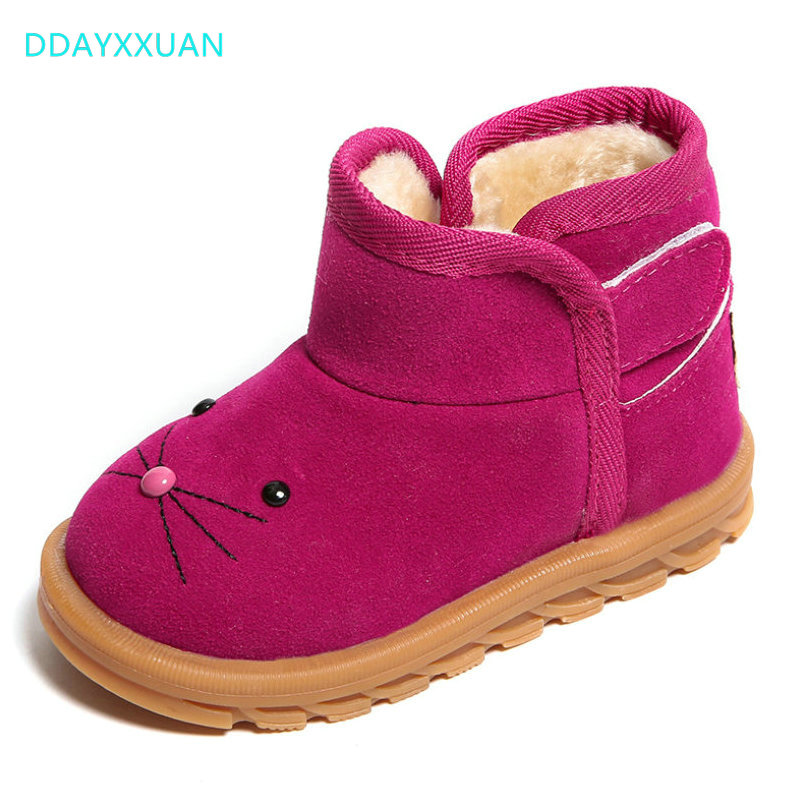 Girls Boots Winter New Brand Children Shoes Warm Ankle Fashion Baby Boots Shoes Kids Snow Boots Childrens Plush Warm ShoesGirls Boots Winter New Brand Children Shoes Warm Ankle Fashion Baby Boots Shoes Kids Snow Boots Childrens Plush Warm Shoes