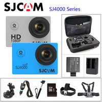 Original SJCAM SJ4000 Series SJ4000 & SJ4000 WIFI Action Camera 1080P HD 2.0 Waterproof Camera Sport DV Connector Set