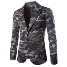 Heißer Verkauf 2015 Neues Design Herren Blazer Jacke Mäntel, beiläufig Nehmen Passende Stilvolle Blazer Für Männer, anzüge Größe M ~ XXL Camouflage
