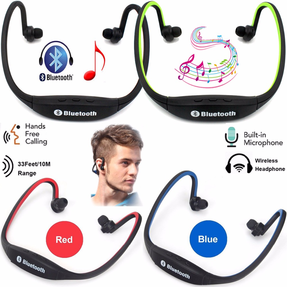 Wireless Headphone Bluetooth Headset Sport Running Earphones Stereo Earbuds With Mic Handsfree Earpiece For Android Ios Phones Earbuds With Mic Stereo Earbudsheadset Sport Aliexpress
