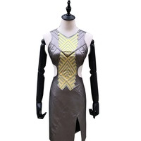 2018 Black Panther Cosplay Nagia Cosplay Costume Dress Adult Halloween Carnival Party Costume
