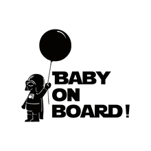 Car Decoration Star Wars Baby On Board Reflective Car Stickers And Decals for chevrolet cruze ford focus vw hyundai honda kia