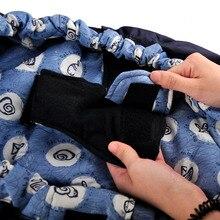 Side carry ergonomic newborn baby wrap