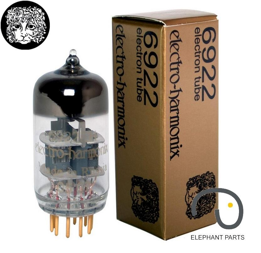 Music Hall 1PC Electro Harmonix EH 6922 GOLD PIN Russia Vacuum Tubes Brand New For Tube