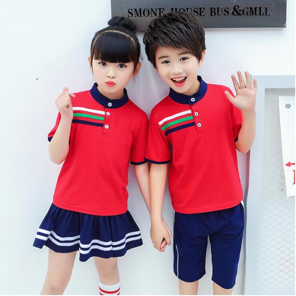Children Japanese Korean School Uniforms Girls Boys Kids -2783