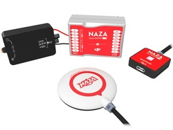 DJI Naza-M Lite Multi-rotor Flight Control System with GPS Compass BEC LED Module All-in-One Design Naza M Multirotor All in One