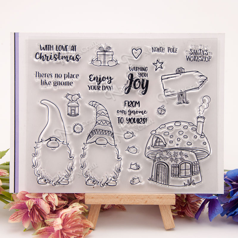 NCraft Clear Stamps N1346 Scrapbook Paper Craft Clear stamp scrapbooking