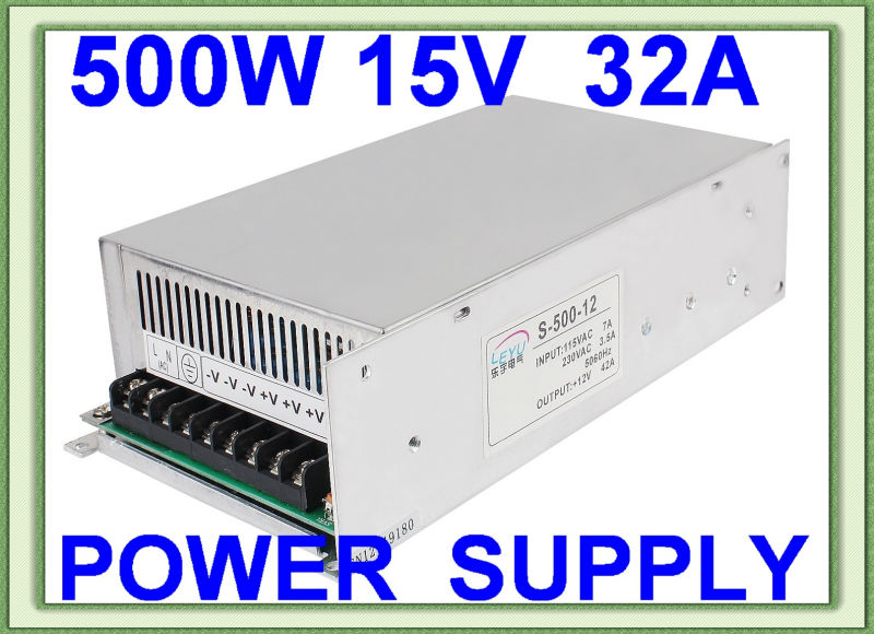CE RoHS S-500-15 ac dc single output switching power supply high power ce rohs high power scn 1500 24v ac dc single output switching power supply with parallel function
