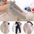 2016 nova primavera meninas meias 4 algodão crianças meias 3 - 10 anos de alta qualidade crianças meias HI110