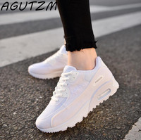 AGUTZM Fashion Korean Women Shoes Spring Tenis Feminino Casual Shoes Outdoor Walking Shoes Women Flats Lace