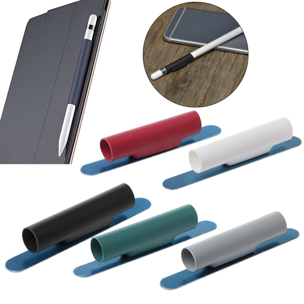 OPEN-SMART Universal Pencil Magnetic Sleeve Soft Silicone Holder Grip For Apple IPad Pro