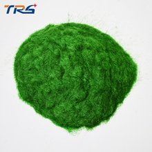 dark green flock nylon DIY sand table model making  lawn grass powder material turf building landscape