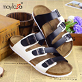 Mens Summer Casual Leather Sandals Shoes New   Closed Toe Beach Sandals for Man Fashion Fishman Slippers ML36