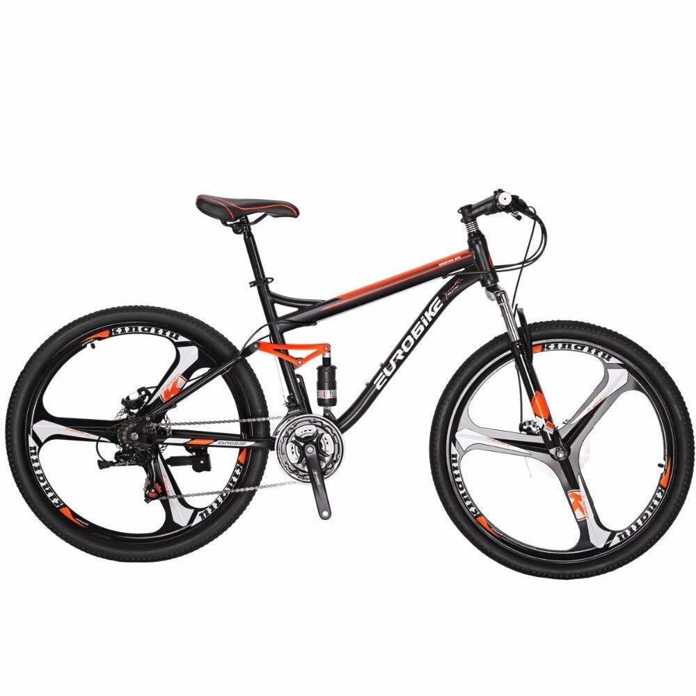 Горный велосипед EUROBIKE S7 MTB 27,5 21 Скорость двойной дисковый тормоз велосипед